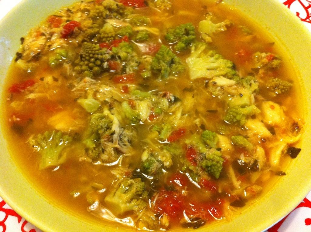 Zuppa broccoli e arzilla